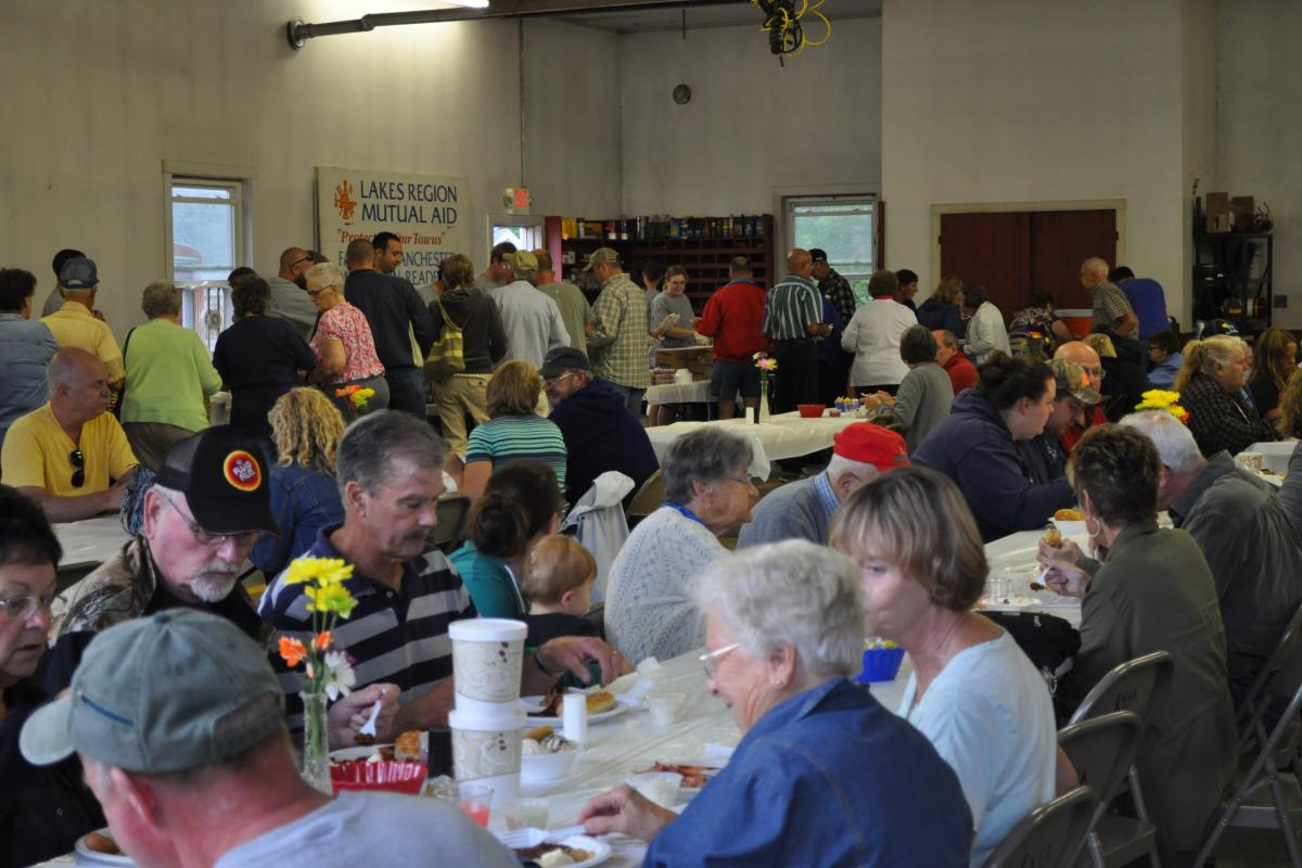 Fire Associations 2016 Bean Hole Supper 8/13/2016