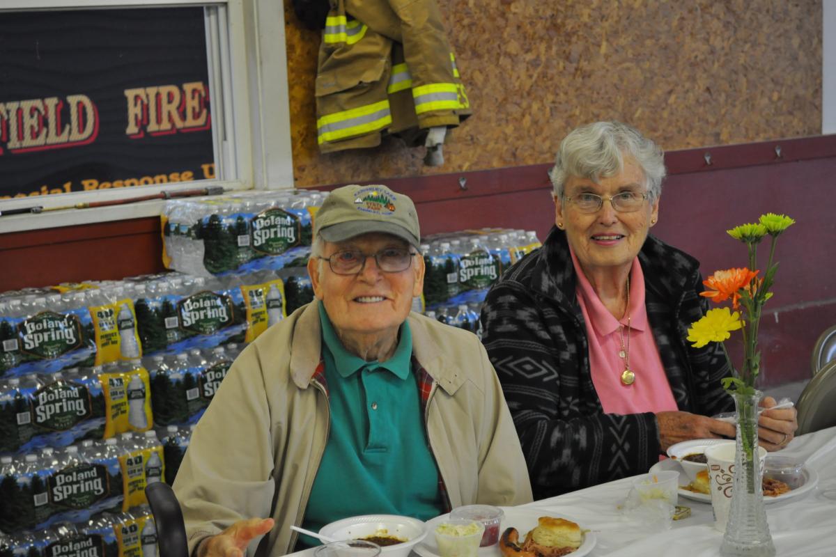 Mr. & Mrs. Wagner - Fire Associations 2016 Bean Hole Supper 8/13/2016