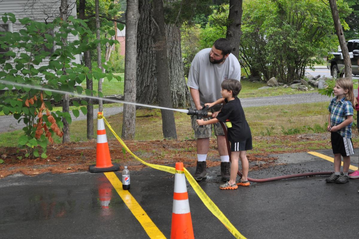 Where's the Fire? - Fire Associations 2016 Bean Hole Supper 8/13/2016