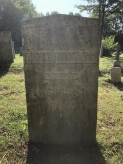 Eliphalet Hoyt Esq. (Died Aug. 15, 1856) Before being cleaned with D-2