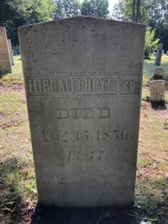 Eliphalet Hoyt Esq. (Died Aug. 15, 1856) Ofer being cleaned with D-2