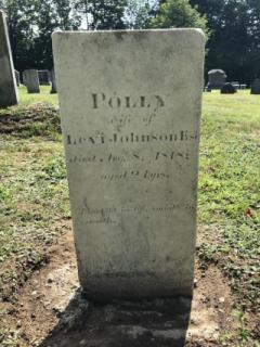 Polly Johnson- East Readfield Cemetery