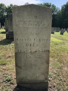 Polly Porter- East Readfield Cemetery
