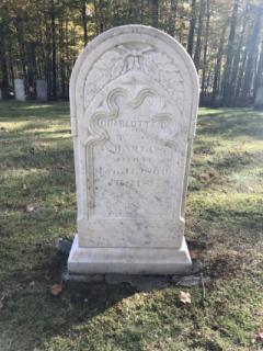 Charlotte B. Viles- Kents Hill Cemetery
