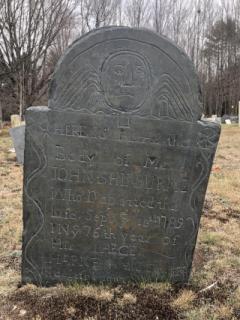 John Shirburne (Sept. 13th, 1789)- Dudley Plains Cemetery