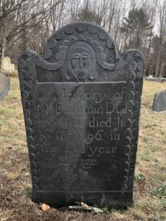 Benjamin Dudley (July 11th, 1796) - Dudley Plains Cemetery