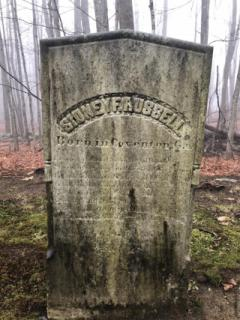 Sydney F. Russell (October 14, 1876 aet 26yrs.)- Kents Hill Cemetery